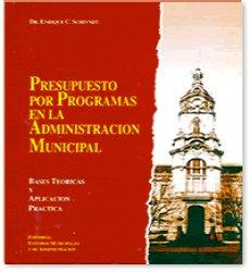 Presupuesto por Programas en la Administración Municipal