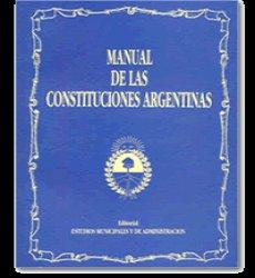 Manual de las Constituciones Argentinas